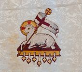 Lamb of God embroidery