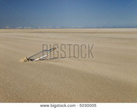 Perdido en un desierto