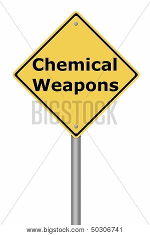 Warning Sign Chemical Weapons