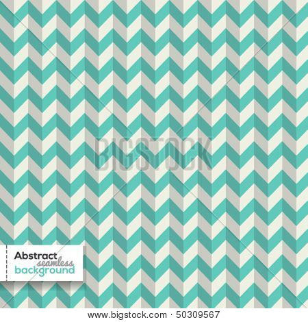 Seamless chevron zigzag pattern with shadows
