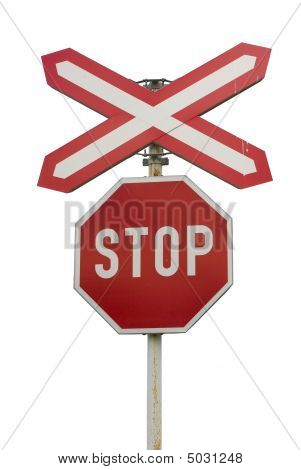 """Isolated """"stop"""" Sign"""