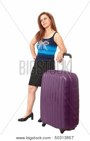Traveler Waiting