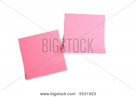 Pink Memory Stick Isolated