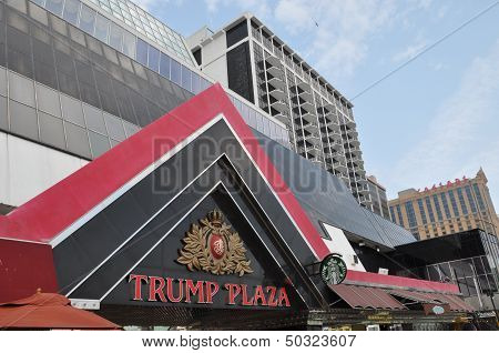 Trump Plaza in Atlantic City, New Jersey