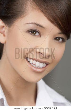 Beautiful Oriental Woman