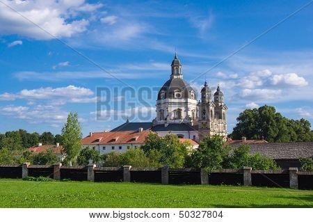 Pazhayslissky monastery in Kaunas