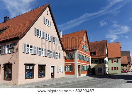 Romantic Dinkelsbuehl, City Of Late Middleages