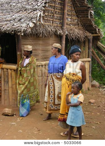 Native Malagasy People