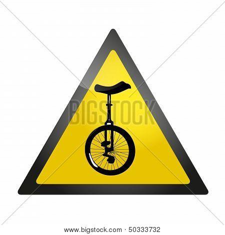 Unicycle roadsign