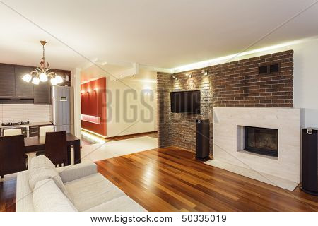 Spacious Apartment - Interior
