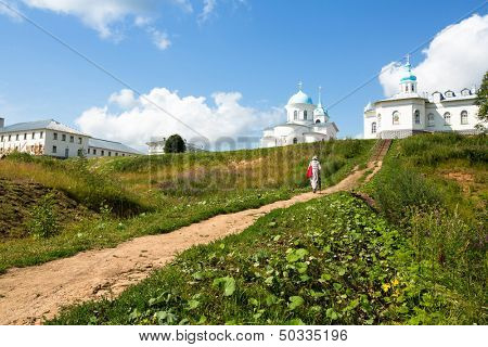 Intercession nunnery orthodox monastery of Russia (Tervenichi)