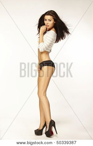 Hot Beauty Brunette
