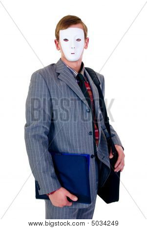 Halloween Businessman