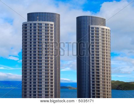 Two Skyscrapers