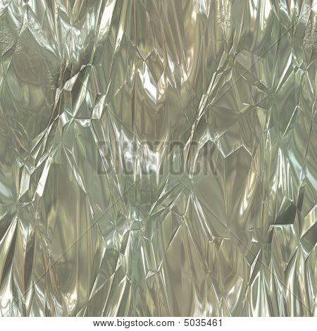 Wrinkled Tinfoil Texture