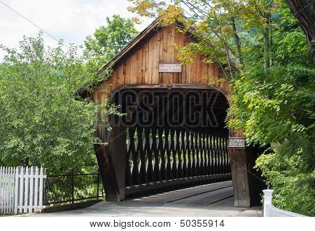 Picturesque Wooden Bridge