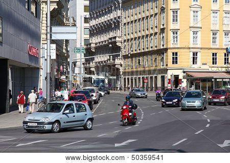 Traffic In Vienna