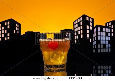 Metropolis Mai Tai Cocktail