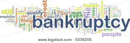 Bankuptcy Wordcloud