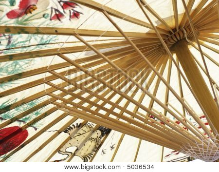 Asian Umbrella Closeup