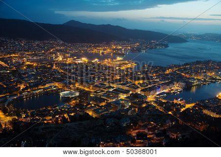 Bergen - Night View