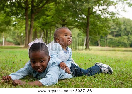 Nice African Brother And Sister