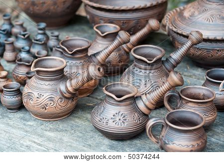 Clayware Turks For Coffee