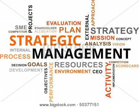 Word Cloud - Strategic Management