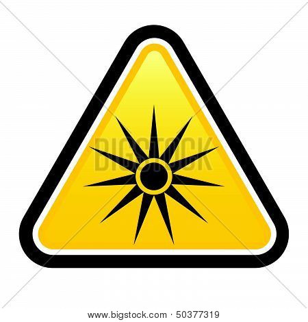 Safety signs warning triangle sign
