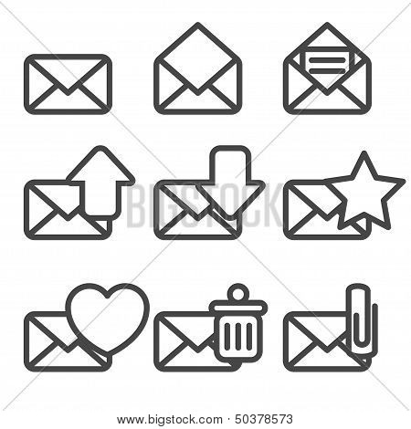 Envelopes Icons