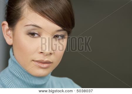 Beautiful Oriental Girl