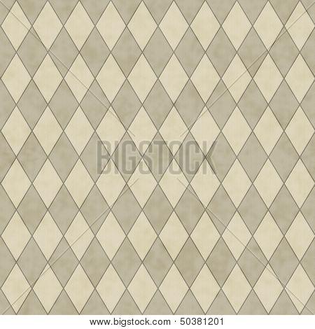 Ecru Diamond Shape Fabric Background