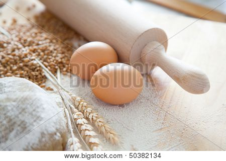 Ingredients For Dough Egg