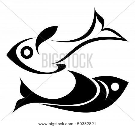Fish Vector Icon