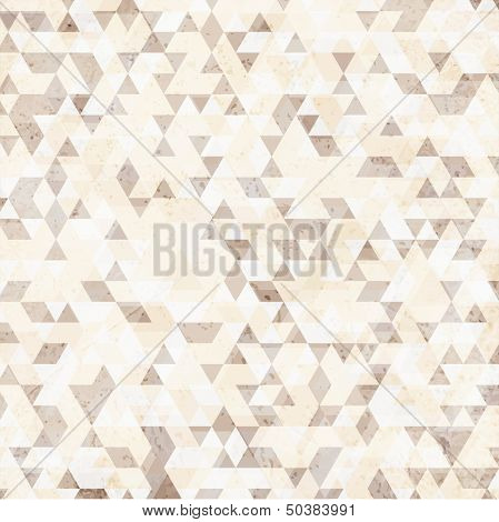 Hipster mosaic background, Hipster theme paper triangles