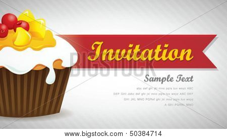 Cupcake background 07