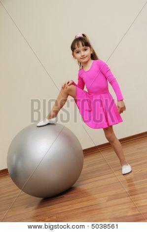 Girl Play Ball