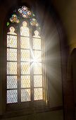 stock photo of stained glass  - Church stained - JPG