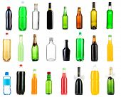 foto of absinthe  - Collage of different bottles of liquids - JPG