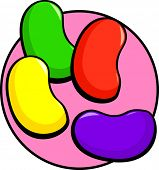 picture of jelly beans  - jelly beans - JPG