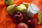 Milk & Fruits