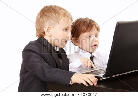 Two Small Businessmen