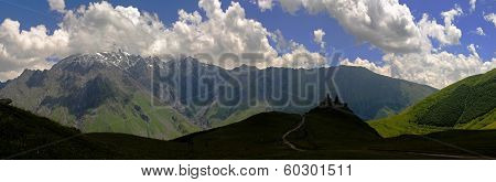 Caucasus Mountains (kazbegi) - Panorama