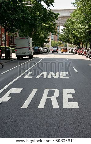 Greenwich Fire Lane