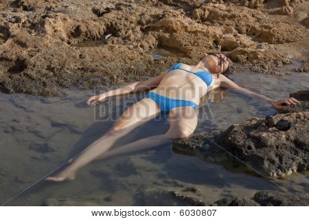 Drowning Woman
