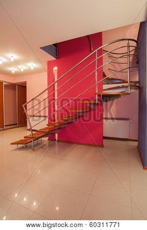 Amaranth House - Original Stairs