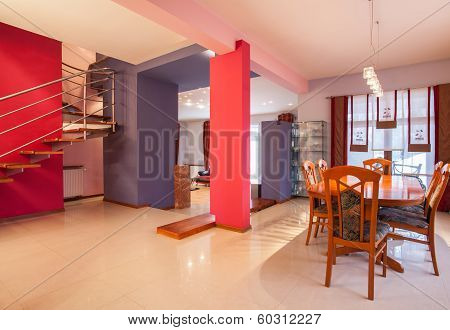 Amaranth House - Dining Room