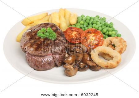 Beef Fillet Steak Dinner