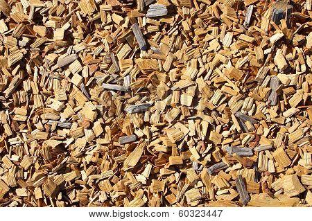 Wood Mulch Background
