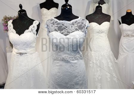 Bridal shop display